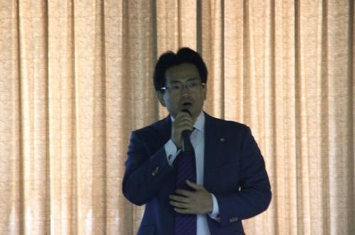 労務について説明する太田氏